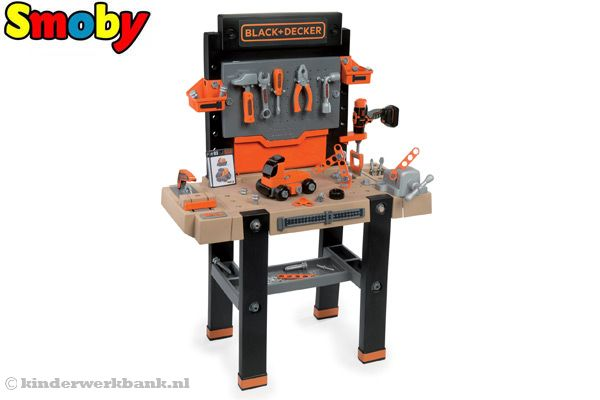 Black & Decker Bricolo ultimate van Smoby.