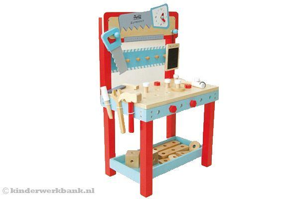 woodtoys houten werkbank. Black Bedroom Furniture Sets. Home Design Ideas