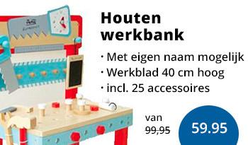 houten kinderwerkbank